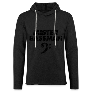 Mister Bassman Bassschlüssel (Vintage Schwarz) S-5XL T-Shirt - Leichtes Kapuzensweatshirt Unisex