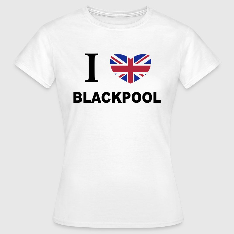 I Love Blackpool T-Shirts - Women's T-Shirt