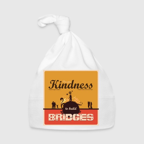 Mens tshirt with - Use your kindness to build bridges - Babyhue