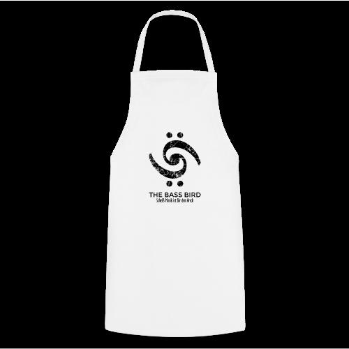 THE BASS BIRD T-Shirt (Damen Weiß/Schwarz) - Kochschürze