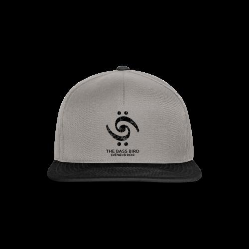 THE BASS BIRD T-Shirt (Damen Weiß/Schwarz) - Snapback Cap