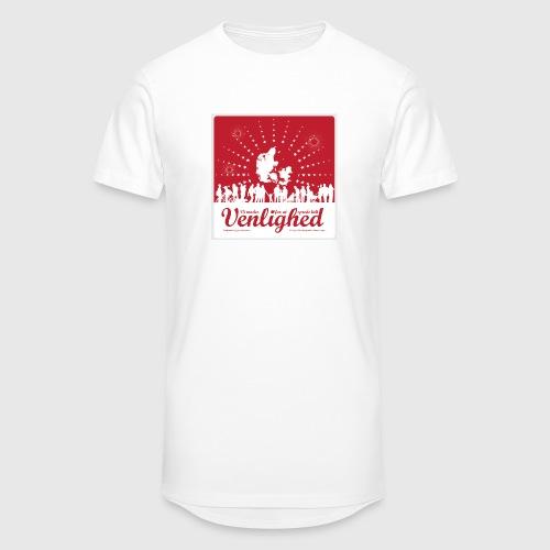 Mens t-shirt - Vi mødes for at sprede lidt venlighed - Herre Urban Longshirt