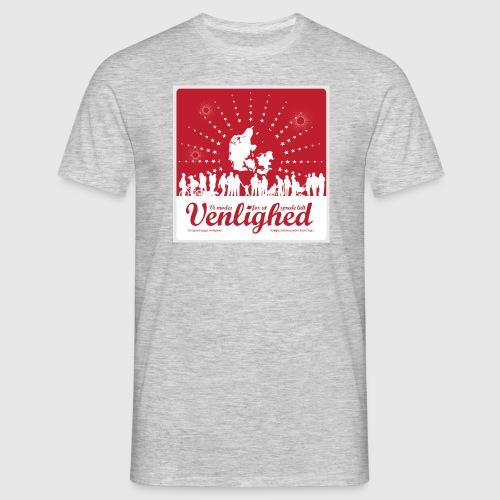 Mens t-shirt - Vi mødes for at sprede lidt venlighed - Herre-T-shirt