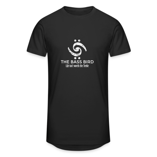 The Bass Bird T-Shirt (Damen Schwarz/Weiß) Premium - Männer Urban Longshirt
