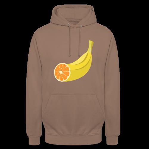 Orangen Banane Shirt - Unisex Hoodie