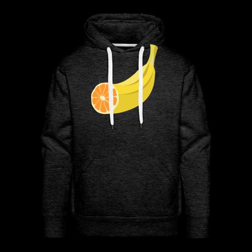 Orangen Banane Shirt - Männer Premium Hoodie