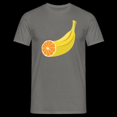Orangen Banane Shirt - Männer T-Shirt