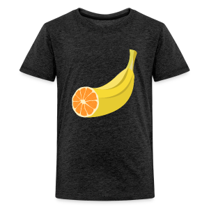 Orangen Banane Shirt - Teenager Premium T-Shirt