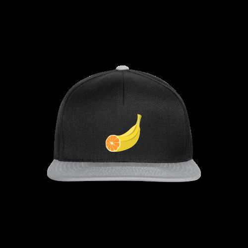 Orangen Banane Shirt - Snapback Cap
