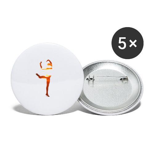 st000282 - Confezione da 5 spille media (32 mm)