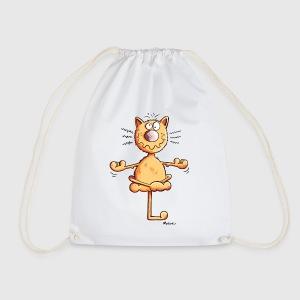 Yoga Katze Thermobecher | Spreadshirt