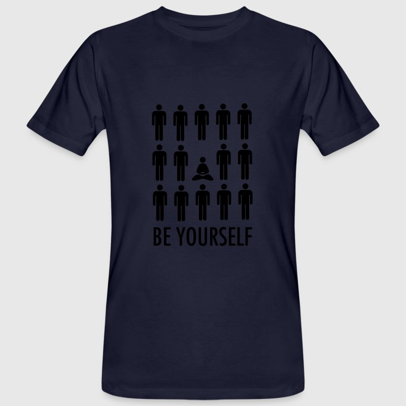 Be Yourself (Meditation) T-Shirts - Men's Organic T-shirt