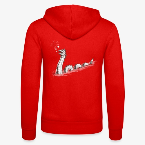 Loch Ness Monster  - Unisex Hooded Jacket by Bella + Canvas
