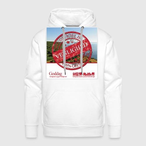 Mens Sweatshirt  - 100% dk venlighed - Herre Premium hættetrøje