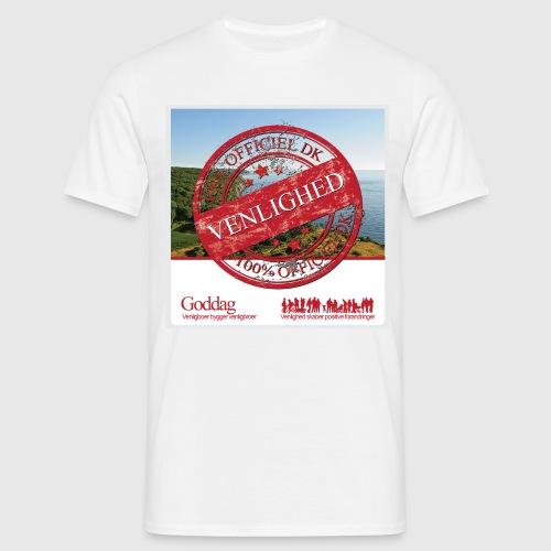 Mens Sweatshirt  - 100% dk venlighed - Herre-T-shirt