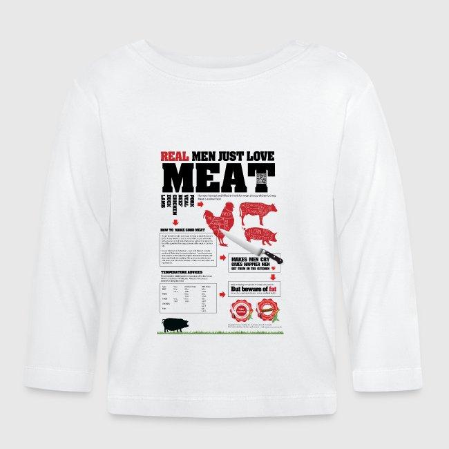 Real men just love meat