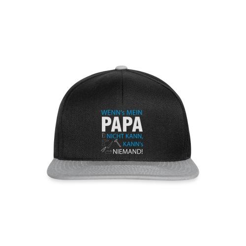 Wenns mein Papa nicht kann! - Snapback Cap