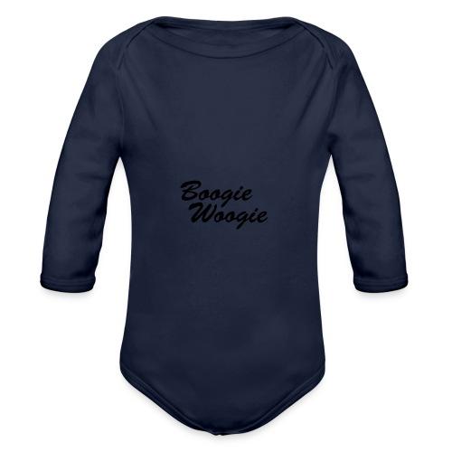 Boogie Woogie – Basecap - Baby Bio-Langarm-Body