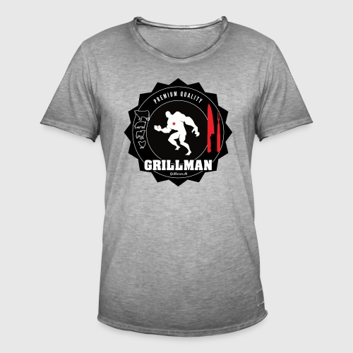 Grillman - The hero - Herre vintage T-shirt