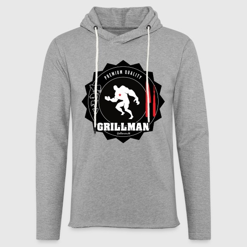 Grillman - The hero - Let sweatshirt med hætte, unisex