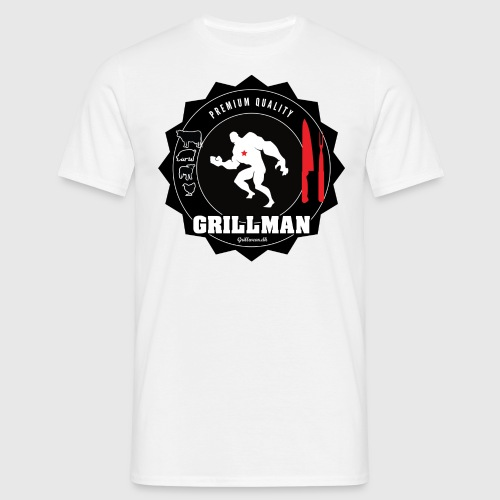 Grillman - The hero - Herre-T-shirt