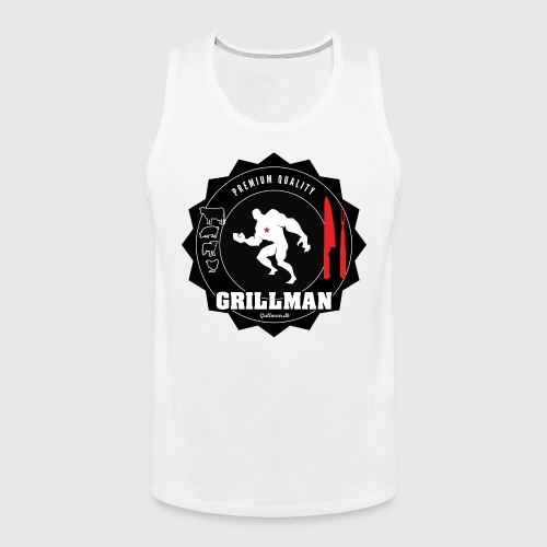 Grillman - The hero - Herre Premium tanktop