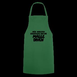 Mallediven Malle Team T-Shirt (Damen Divablau/Weiß) - Kochschürze