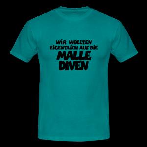 Mallediven Malle Team T-Shirt (Damen Divablau/Weiß) - Männer T-Shirt