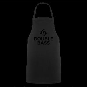 Kontrabass T-Shirt Double Bass Gold - Kochschürze