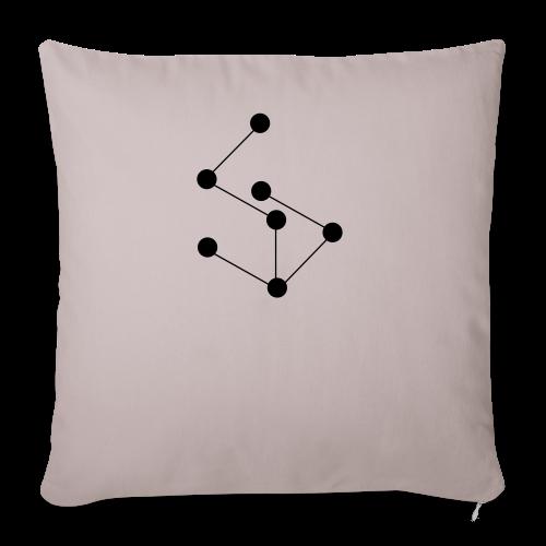 LAN- Shirt Black Logo - Sofa pillowcase 17,3'' x 17,3'' (45 x 45 cm)