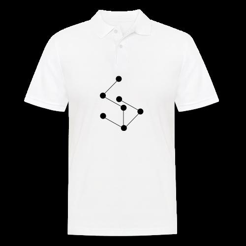 LAN- Shirt Black Logo - Men's Polo Shirt