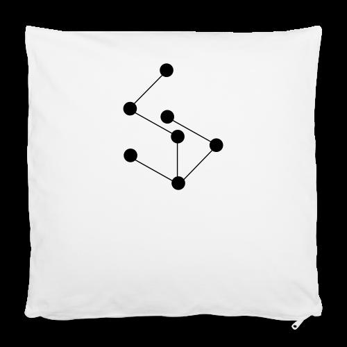 """LAN- Shirt Black Logo - Pillowcase 16"""" x 16"""" (40 x 40 cm)"""