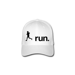 I run. - Flexfit Baseballkappe