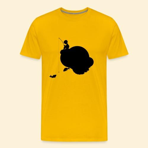 Planet Angeln_s - Männer Premium T-Shirt