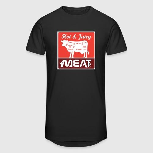 Hot & juicy Meat - Herre Urban Longshirt