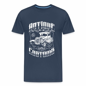Hot Rod - Antique Customs (white) - Männer Premium T-Shirt