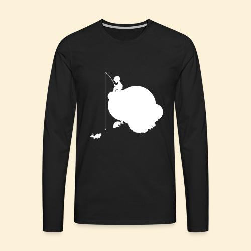 Planet Angeln_w - Männer Premium Langarmshirt