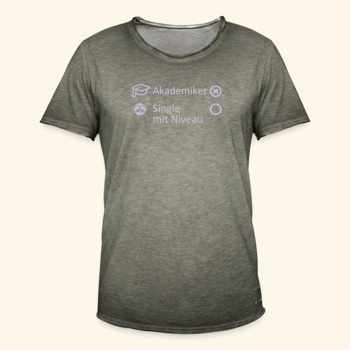 Akademiker, Lady - Männer Vintage T-Shirt