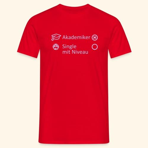 Akademiker, Lady - Männer T-Shirt