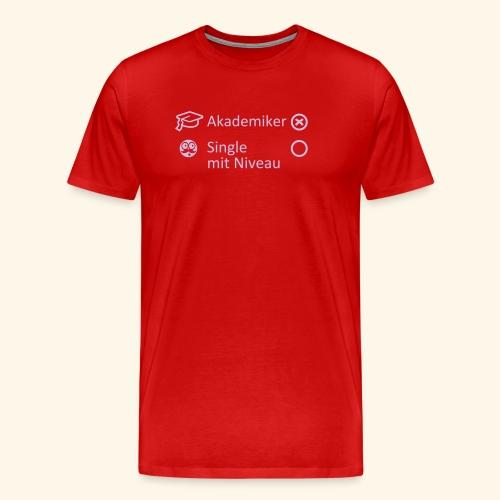 Akademiker, Lady - Männer Premium T-Shirt
