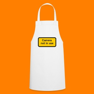 Camera not in use - Cooking Apron