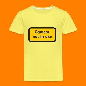 Camera not in use - Kids' Premium T-Shirt