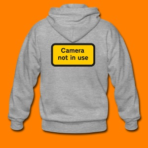 Camera not in use - Men's Premium Hooded Jacket