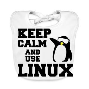 Camiseta Linuxeros FAQ - Babero ecológico bebé