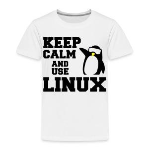 Camiseta Linuxeros FAQ - Camiseta premium niño