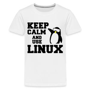 Camiseta Linuxeros FAQ - Camiseta premium adolescente