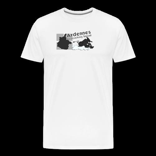 Casquette N&B Ardennes Géocaching Squad - T-shirt Premium Homme