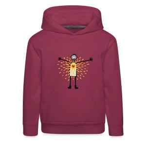 LOVEshirt Sunny Heart - Kinder Premium Hoodie