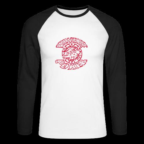 Tapis de souris - T-shirt baseball manches longues Homme