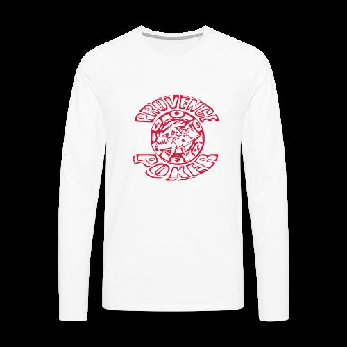 Tapis de souris - T-shirt manches longues Premium Homme